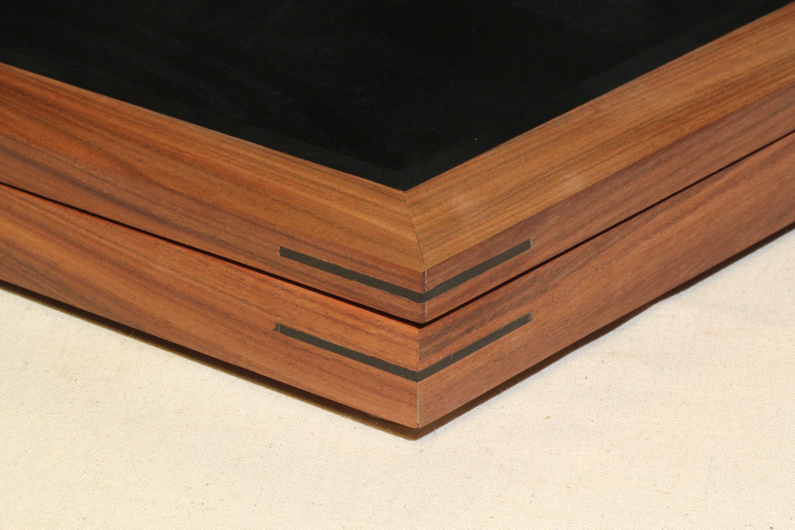 Shadowbox - Large - Bolivian Rosewood