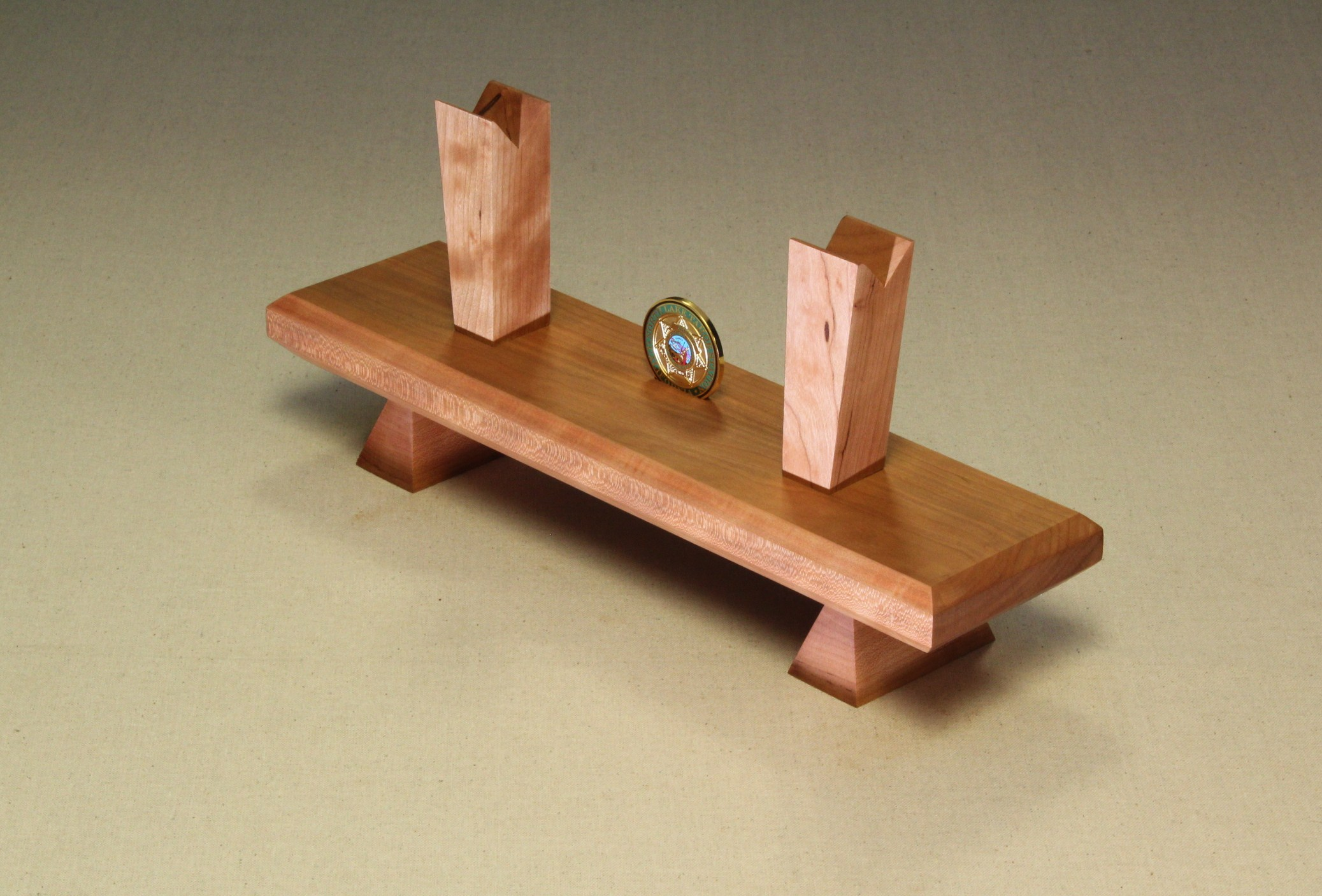 Display Stand - Cherry - Coin Slot