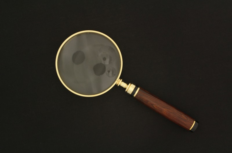 Magnifying Glass - American Classic - Wood