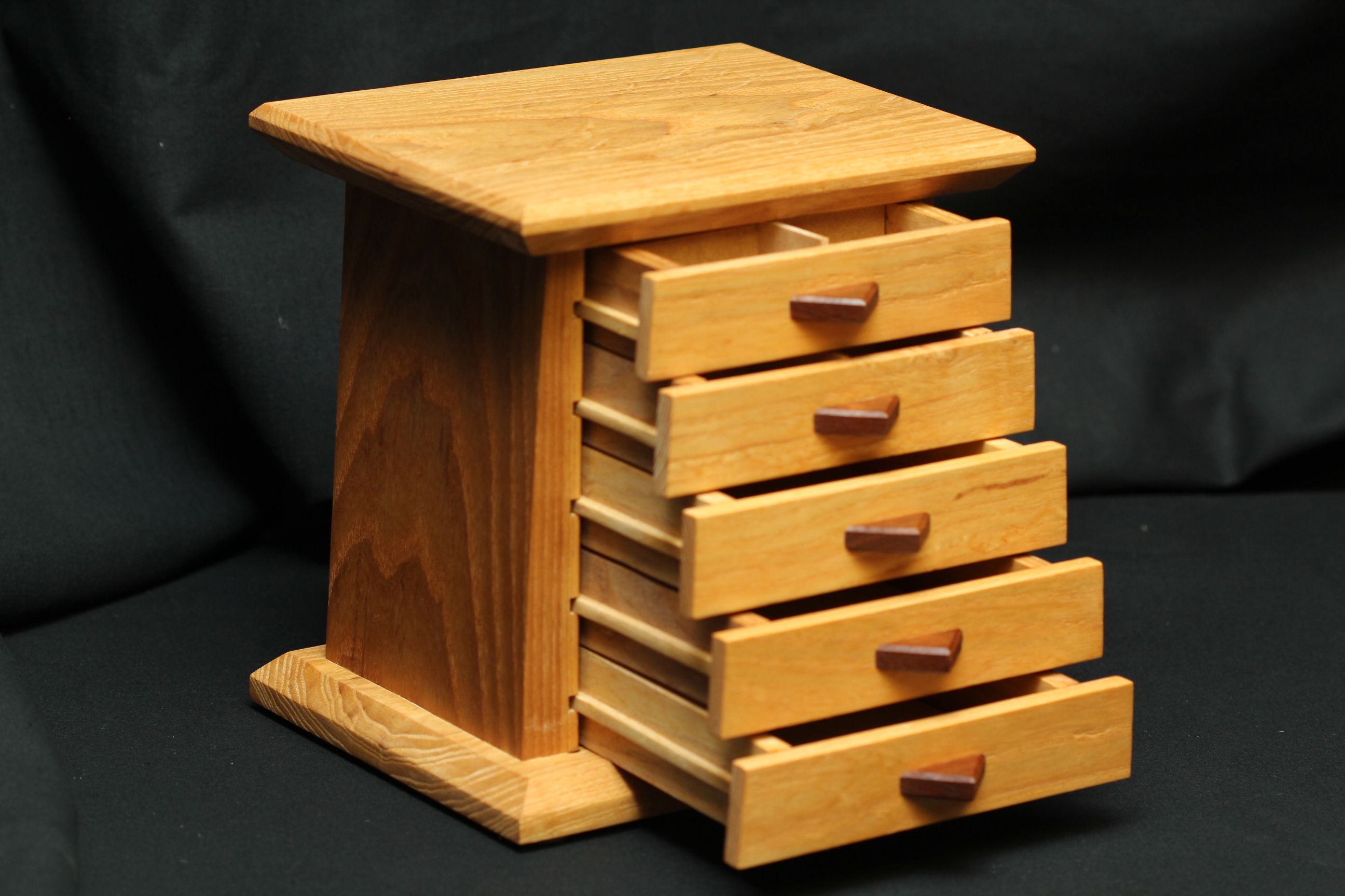 Jewelry Box - The Tower - 5 Drawer